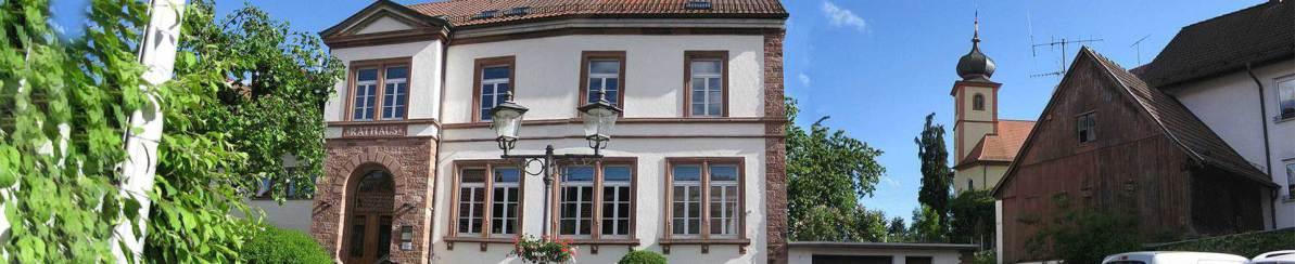 Rathaus - Gemeinderat