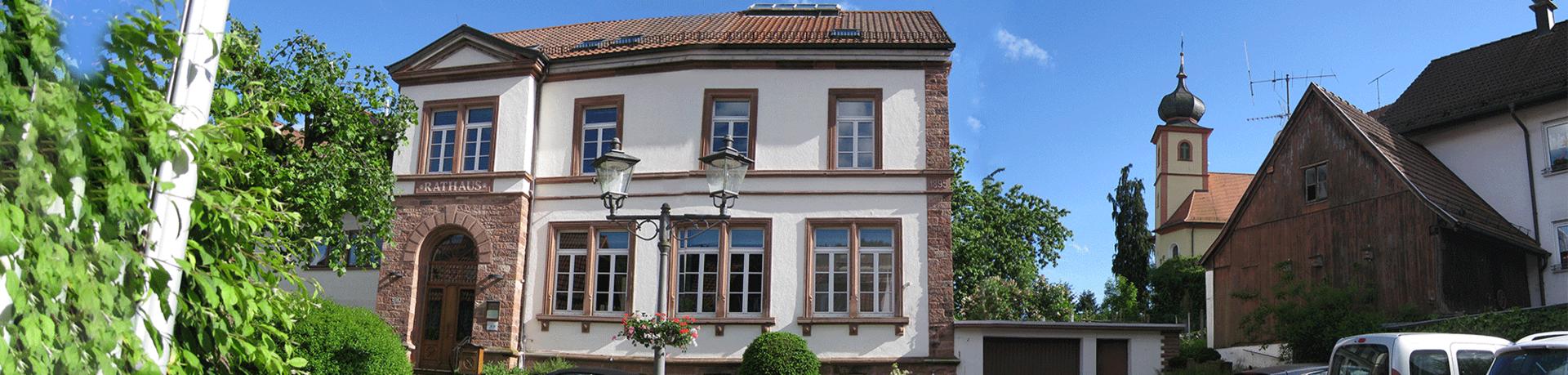 Heiligkreuzsteinach Rathaus